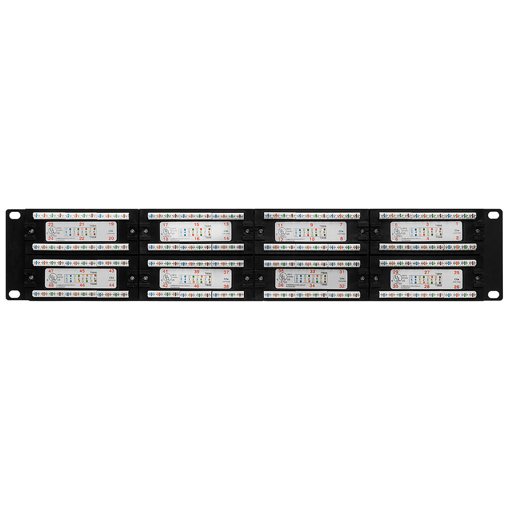 Cat5e Patch Panel 110 Type 48 port - Enhanced