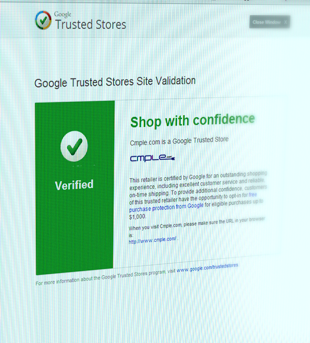cmple-google-trusted-store-badge