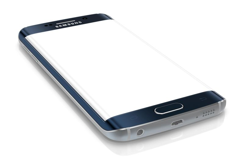 first device with dual-curved glass display