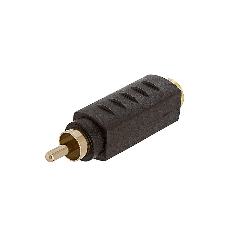 S-VHS 4Pin Jack to RCA Plug Adapter