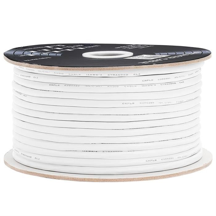 12AWG CL2-Rated Four-Conductor In-Wall Speaker Cable – 250 Feet