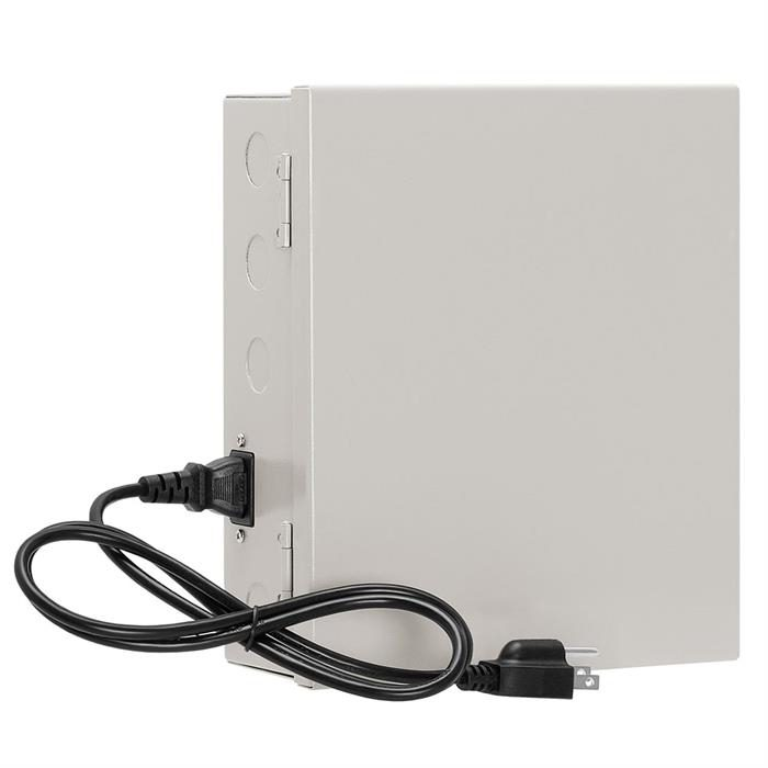 12Volt 9P 10 Amp Power Supply Box for CCTV
