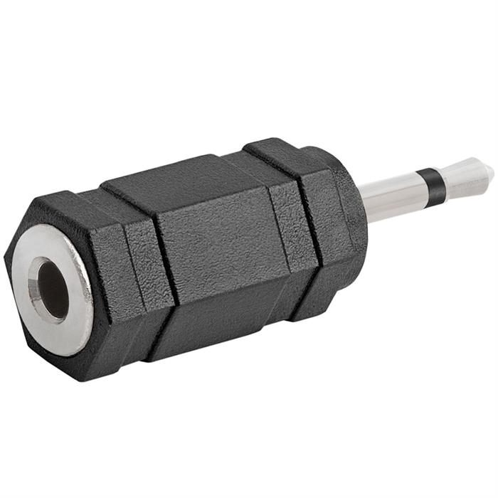 2.5mm Mono Plug to 3.5mm Stereo Jack Adapter