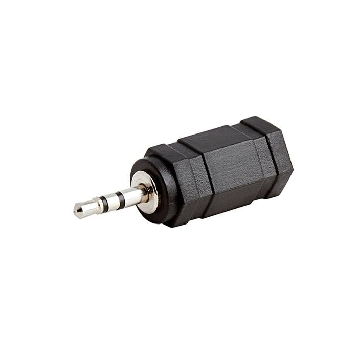 2.5mm Stereo Plug to 3.5mm Mono Jack Adapter