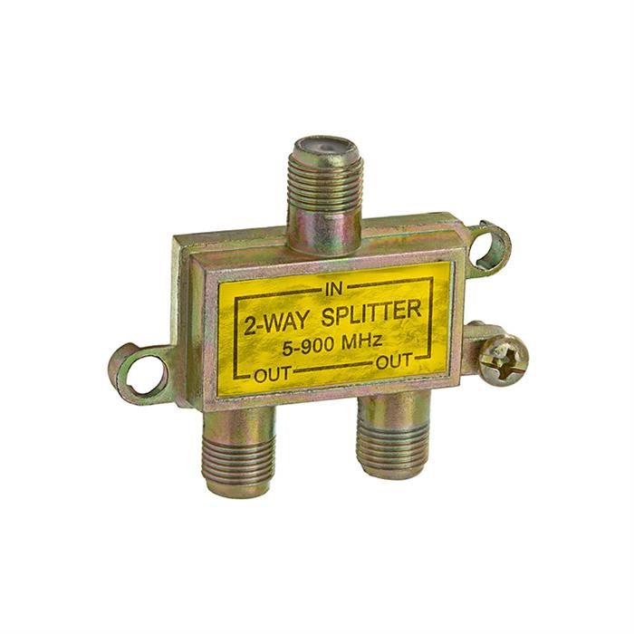 2-Way Splitter 5-900MHz F-Type Mini-Type
