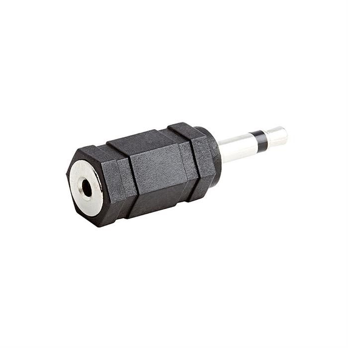 3.5mm Mono Plug to 2.5mm Mono Jack Adapter