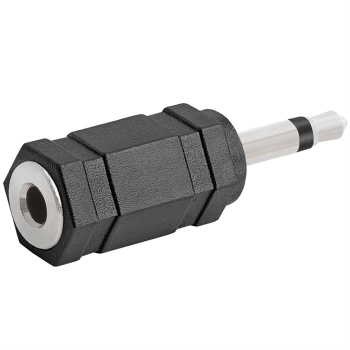 3.5mm Mono Plug to 3.5mm Mono Jack Adapter