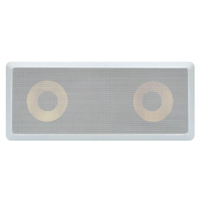 "6.5"" in wall surround speaker 600 Watt grille view"