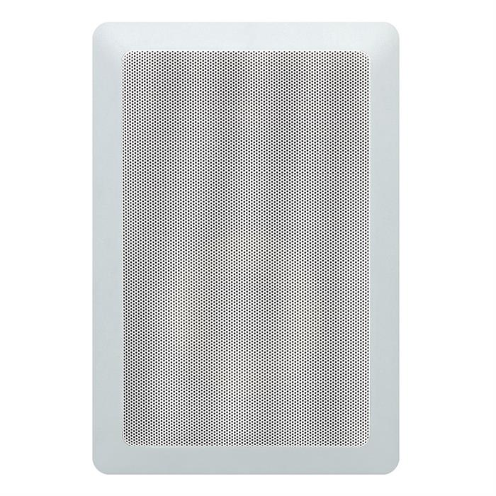 "rectangle in wall speaker 5.25"" grille view"