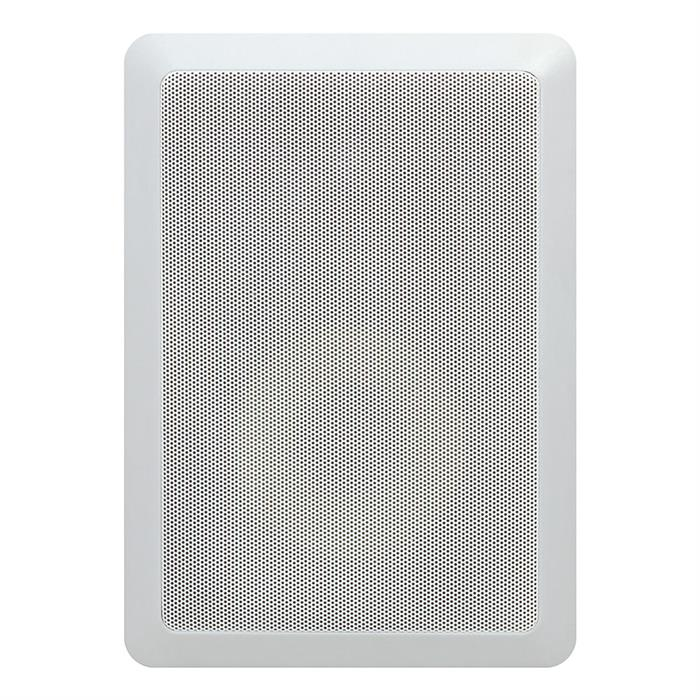 6.5 inch surround in wall speaker cmple grille view