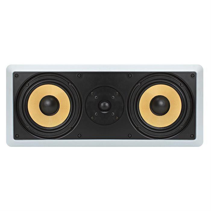 premium speaker in wall 600 Watt 6.5 inch front view
