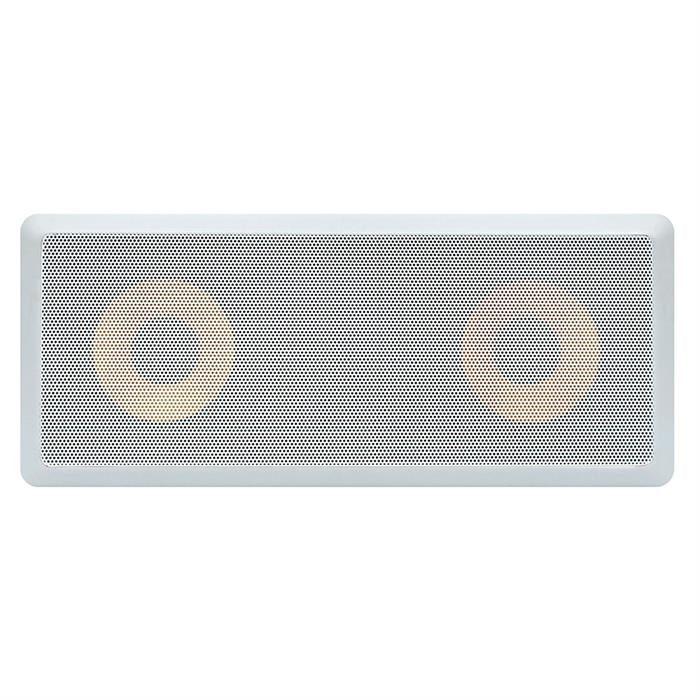 "6.5"" speaker surround in wall 600 Watt grille view"