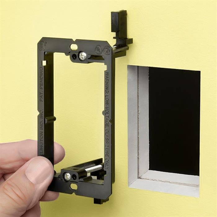 Arlington™ LV1 Single Gang Low Voltage Mounting Bracket, Old Work