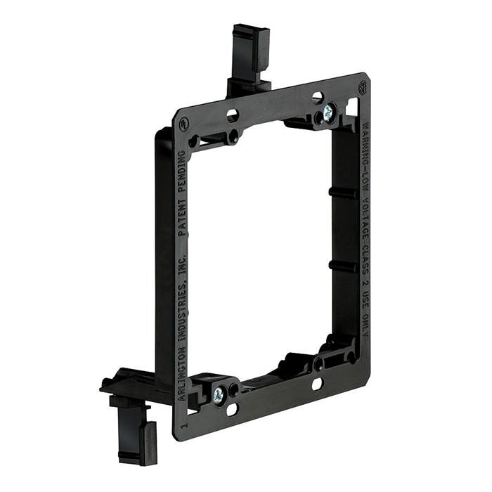Arlington™ LV2 Double Gang Low Voltage Mounting Bracket, Old Work