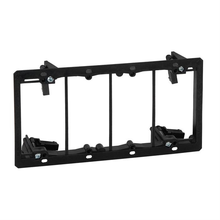 Arlington™ LV4 Four Gang Low Voltage Mounting Bracket, Old Work