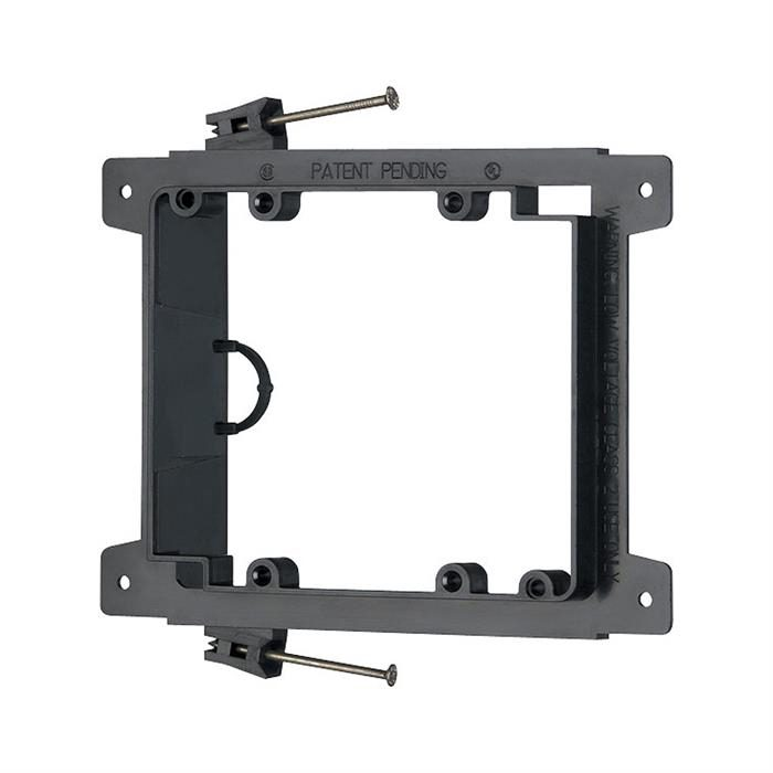 Arlington™ LVN2 Nail-On Low Voltage Mounting Bracket, Double Gang