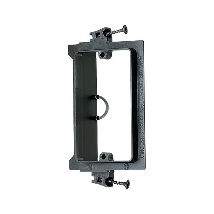 Arlington™ LVS1 Single-Gang Screw-On Low Voltage Bracket for New Construction