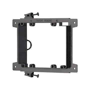 Arlington™ LVS2 Double-Gang Screw-On Low Voltage Bracket for New Construction