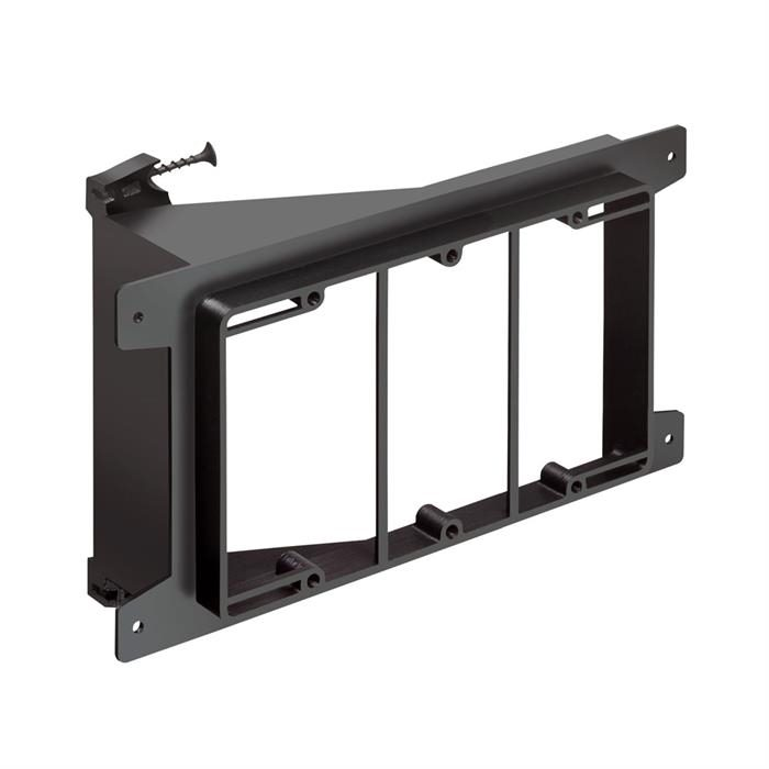 Arlington™ LVS3 Triple-Gang Screw-On Low Voltage Bracket for New Construction