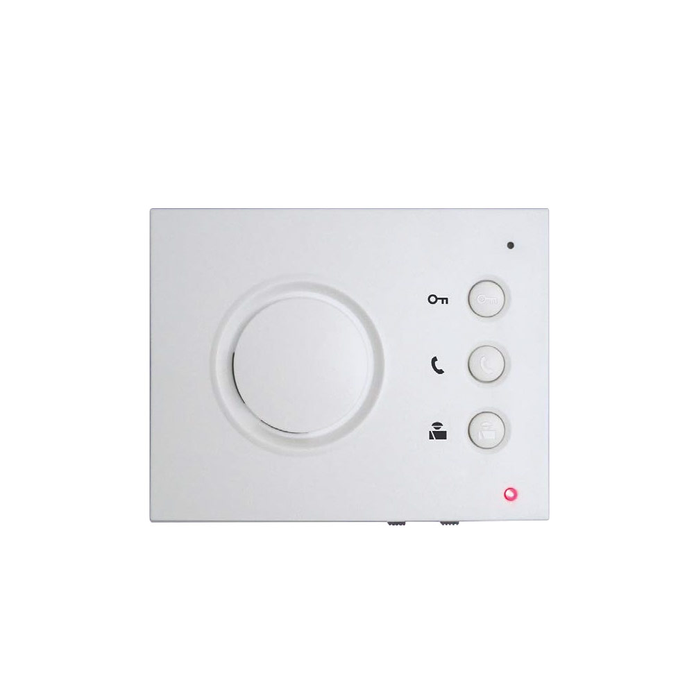 Audio door entry system hands free inside station with for Door entry systems