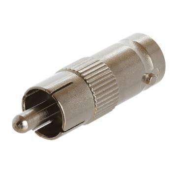 BNC Female Jack to RCA Male Plug Adapter