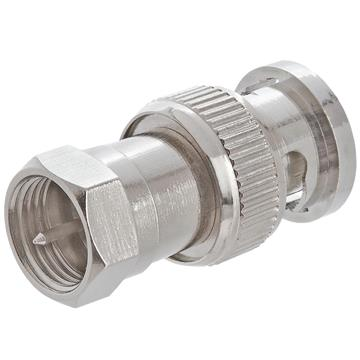 BNC Male to F Male Adapter