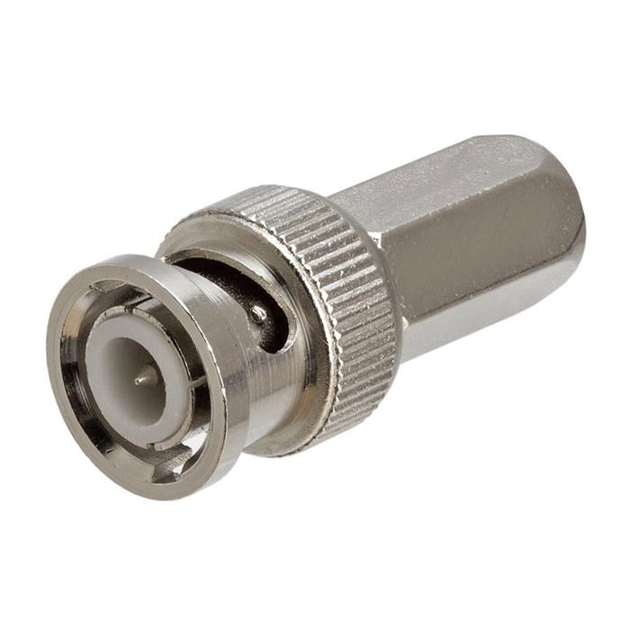 BNC Male Twist-on Connector, RG59