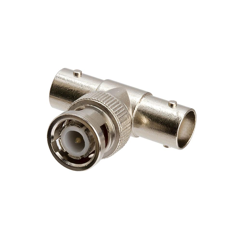 Bnc tee adapter jack plug
