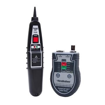 Byte Brothers CTX200P Pocket CAT Cable Tester with Probe