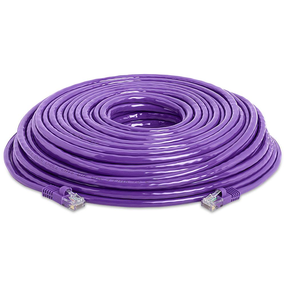 Rj45 1000 Mbps Cat 5e Ethernet Lan Network Purple Cable