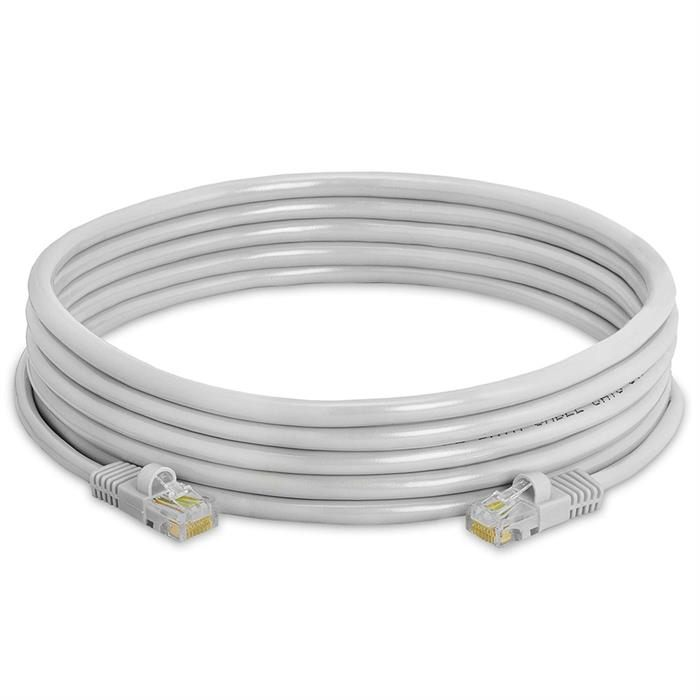 High Speed Lan Cat5e Patch Cable 15FT Gray