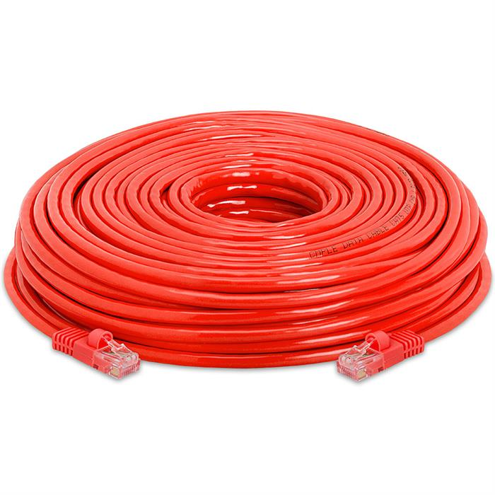 High Speed Lan Cat5e Patch Cable 150FT Red