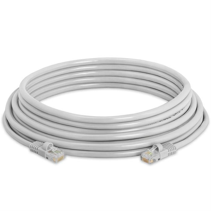 High Speed Lan Cat5e Patch Cable 25FT Gray