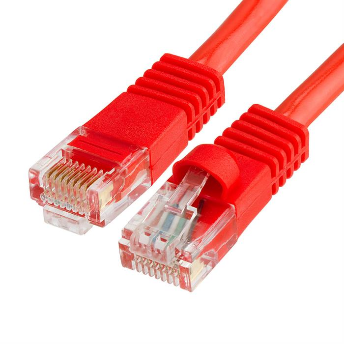 Cat5e Ethernet Network Patch Cable 25 Feet Red