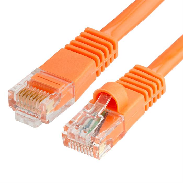 Cat5e Ethernet Network Patch Cable 5 Feet Orange