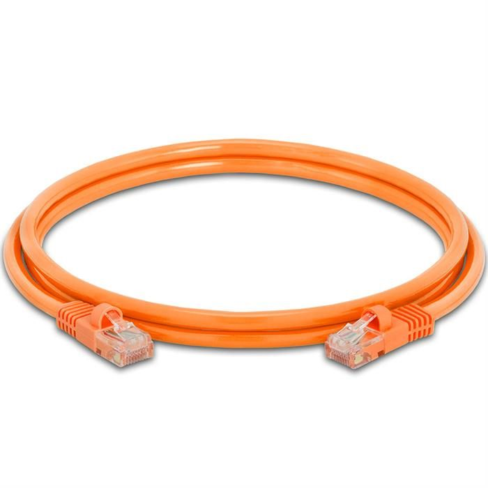High Speed Lan Cat5e Patch Cable 5FT Orange