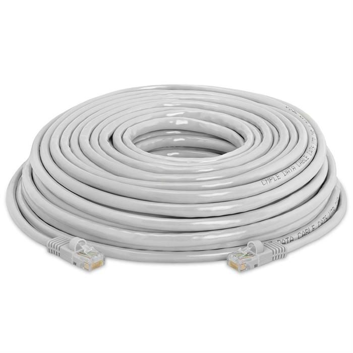 High Speed Lan Cat5e Patch Cable 50FT Gray