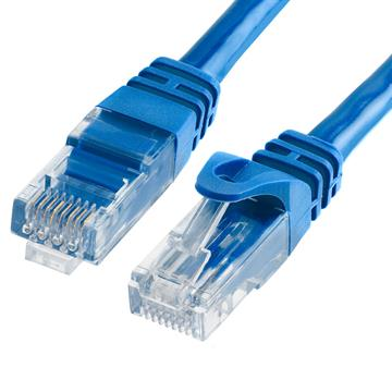 Cat6 500MHz UTP Ethernet LAN Network Cable - 10 Feet Blue