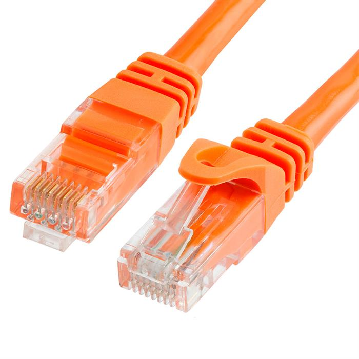 Cat6 Ethernet Network Patch Cable 10 Feet Orange