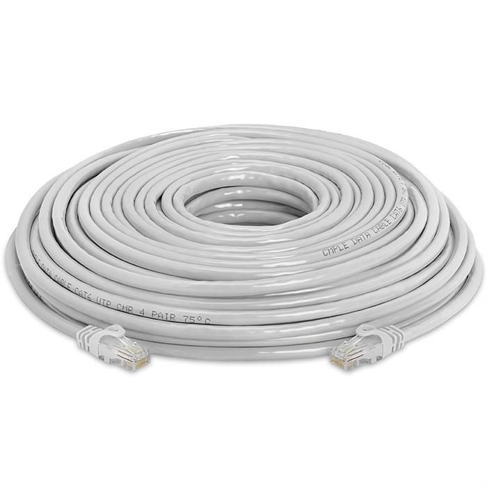 High Speed Lan Cat6 Patch Cable 100FT Gray