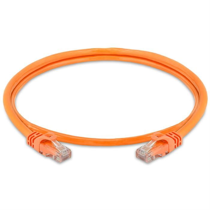 High Speed Lan Cat6 Patch Cable 3FT Orange