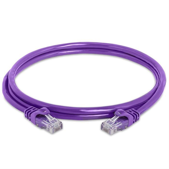 High Speed Lan Cat6 Patch Cable 5FT Purple