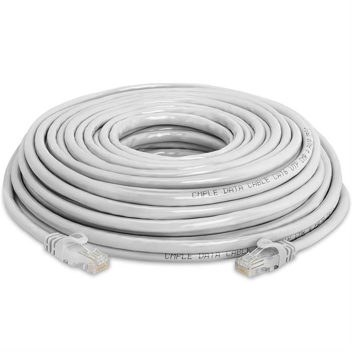 High Speed Lan Cat6 Patch Cable 50FT Gray