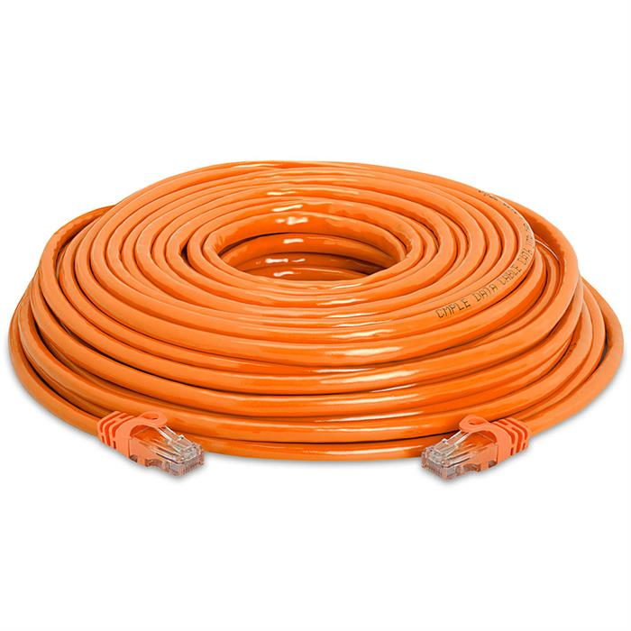 High Speed Lan Cat6 Patch Cable 75FT Orange