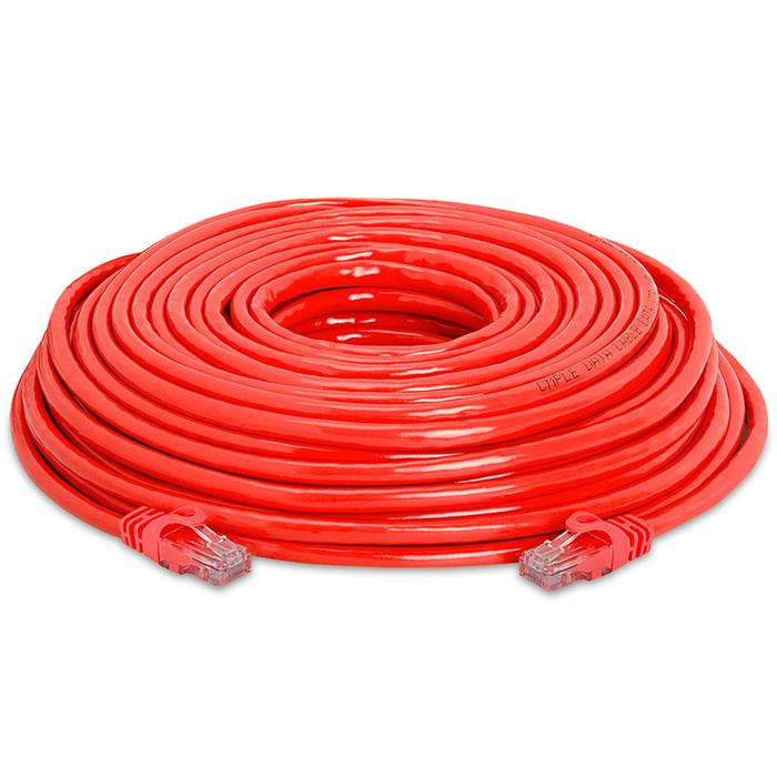 High Speed Lan Cat6 Patch Cable 75FT Red