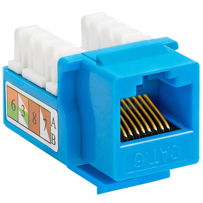 cat6 punch down keystone jack blue_NID0010637_700 cat6 punch down keystone jack white