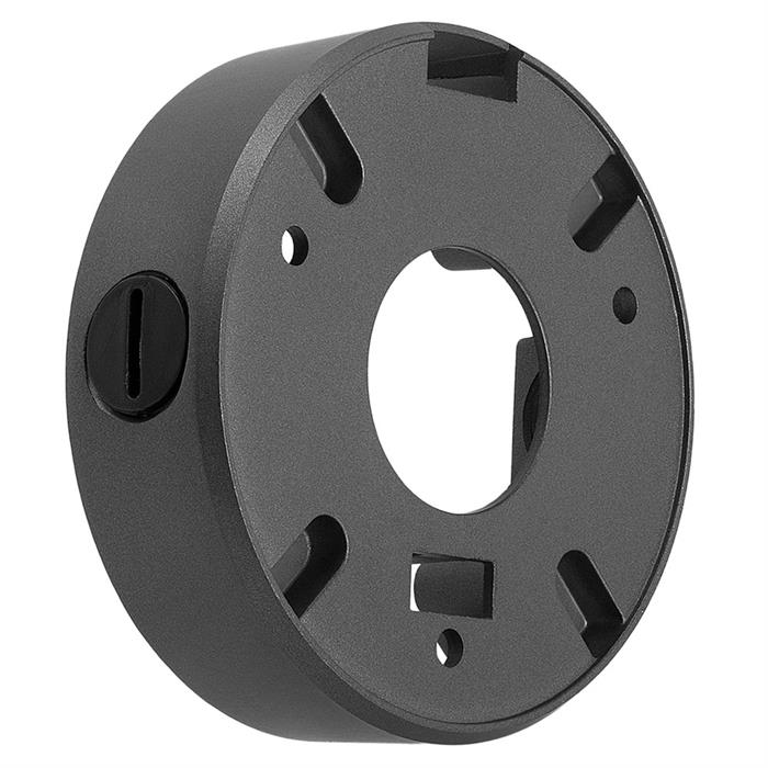 CCTV Mounting Junction Box will fit most Small Dome cameras - Dark Gray