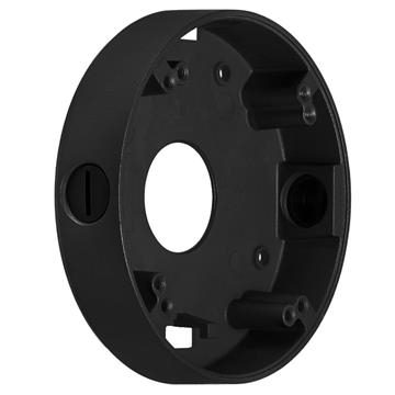 CCTV Mounting Junction Box will fit most Varifocal cameras - Black