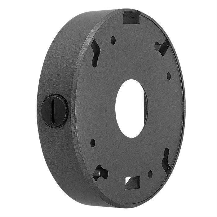 CCTV Mounting Junction Box will fit most Varifocal cameras - Dark Gray