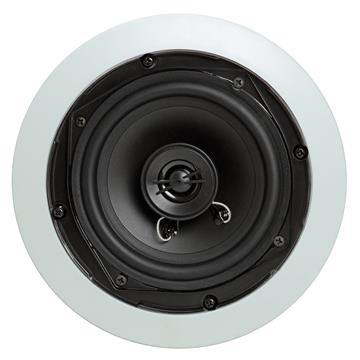 "5.25"" Surround Sound 2-Way In-Wall/In-Ceiling Speakers (Pair) - Round"